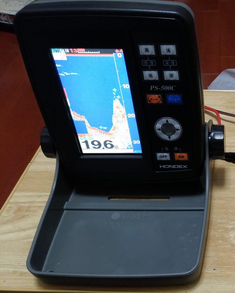 PS-500C ポータブル魚探